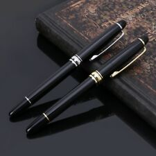 Business Office Signature Fine Rod Rotating Metal Ballpoint Pen Writing Gifts