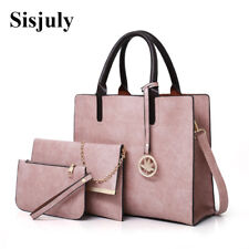 3Pcs Sets Bag Women Leather Handbag Luxury Female Shoulder Bags Designer Big