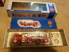 Corgi fire diecast fire truck lot 2002 segrave mack 1:50 scale model collection