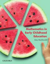Mathematics in Early Childhood by Amy MacDonald Paperback Book Free Shipping!
