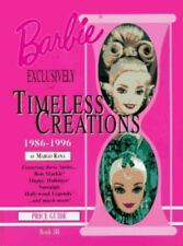 Barbie Doll Exclusively for Timeless Creations 1986-1996 price guide - NEW! RARE