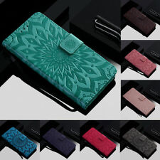 For Xiaomi Mi 8/Redmi Note 3/4/5A Sunflower Leather Flip Stand Wallet Case Cover