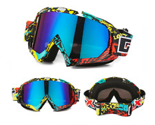 Pro Unisex Snowboarding Goggles Skiing Motocycle Cycling Glass Wind&Dust Proof#