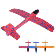 Outdoor Hand Throw Airplane Toy Launch Glider Plane Aircraft Model for Kids Toys