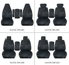 Ford f150 1999-2014 car seat covers terrain camo charcoal , select  seat style