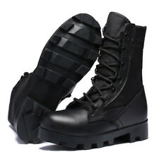 Men Army Combat Ankle Desert Boots Outdoor High Top Military Tactical SWAT Shoes