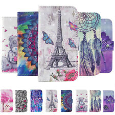 For Xiaomi Redmi 6 6A Note 4X 5X 3D Painted Case Wallet Leather Flip Stand Cover