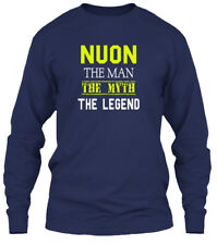 Comfortable Nuon Man - The Myth Legend Gildan Gildan Long Sleeve Tee T-Shirt