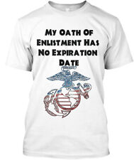 Trendy No Expiration Date - My Oath Of Enlistment Has Hanes Tagless Tee T-Shirt