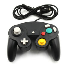 1x Black wired controller for nintendo game cube gc&Wii console classic joypHV