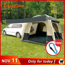 Waterproof Camping Tent Travelling Double Layer Outdoor Car Tent 5 Person New