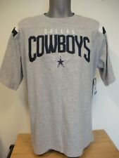 New Gray Dallas Cowboys Authentic Apparel Men's Short Sleeve T-Shirt