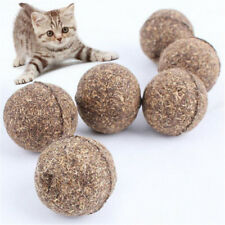 Ball Catnip Natural Cat Toys Pet Treats Healthy Funny Cats Kitten Toy Edible
