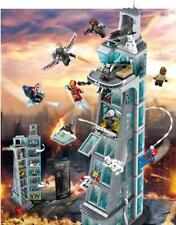 Avengers Tower Super Heroes Infinity Wars Marvel Ironman Building Block Set NEW