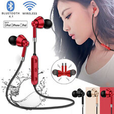 Bluetooth Wireless Sweatproof Headphones Sport Earphones Stereo Headset With Mic