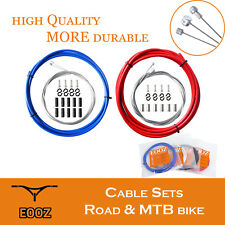 Bike Front Rear Galvanize Inner Outer Wire Brake Gear Shifter Cable Housing Kit
