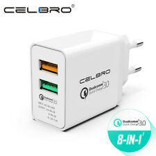 Dual USB Wall Charger Fast Charge 3.0