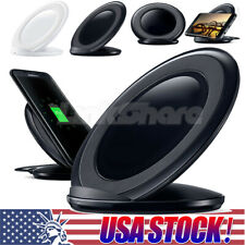 Qi Wireless Charger Fast Charging Stand Dock Pad For Samsung Galaxy S8 S7 N8 e9