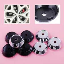 4Pcs 65mm Plastic Car Rims Cover Wheel Center Hub Caps Emblem Badge