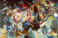 Classic Russian Abstract Art Print: Composition VI by Wasiily Kandinsky, 1913