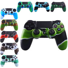 Soft Skin Silicone Rubber Case Skin Grip Cover For PlayStation 4 PS4 Controller