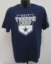 DALLAS COWBOYS UNISEX FRISCO TRAINING CAMP SHIRT NFL FOOTBALL PRINTED NAVY