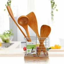 Wooden Cooking Rice Spatula Scoop Kitchen Utensil Non-stick Hand Wok Shovel