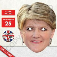Claire Balding Horse Riding Commentator Card Face Mask Fast Dispatch New