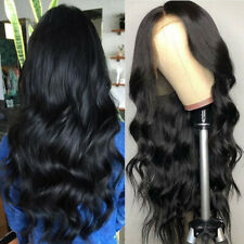 13x6 Lace Front Human Hair Wigs Brazilian Body Wave Pre placked With Baby Hair