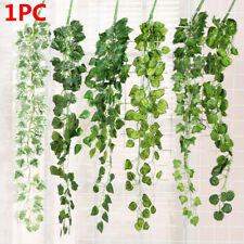 Real Touch Home Decor Vine Fake Foliage Artificial Ivy Leaves Garland Plants