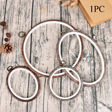 Pattern DIY Embroidery Hoop Ring Sewing Tools Needle Arts Cross Stitch Frame