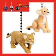 DISNEY LION KING LIVE ACTION MOVIE CEILING FAN PULLS - YOUNG SIMBA & YOUNG NALA