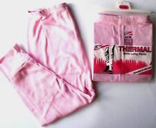 GIRLS/BOYS THERMAL LONG JOHNS/LEGGING/VEST UNDERWEAR