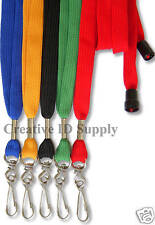 LOT 50 Breakaway NECK Lanyards - STRAP - For ID Badges