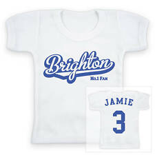 BRIGHTON Football Personalised Baby/Child T-Shirt
