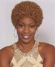 Strawberry Blond Short Haired Afro Wig - Small Afro Wig