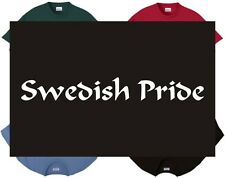 Shirt/Tank - Swedish Pride -Scandinavian swede Svenskar