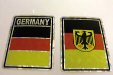 """3x4"" Germany Stickers / Germany Flag / Decal"