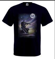 Airbrushed Dark Knight hand painted t-shirt in any size