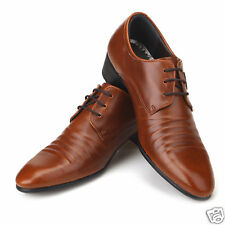 New Mens Italian Classic Style Dress Casual Shoes Brown