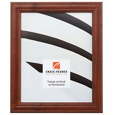 Dark Walnut Distressed Picture Frames Poster Frames