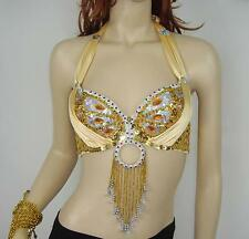 New Belly Dance Costume Performance & Practice Top Bra Size 32-34B/C 12 colors