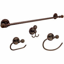 Andora Oil Rubbed Bronze Bath Hardware Set Bathroom