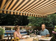 14' SunSetter Motorized Retractable Awning in Acrylic Fabric, Outdoor Awnings