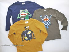 Mini Boden Monster Applique T-Shirt 2-14 yrs  NEW