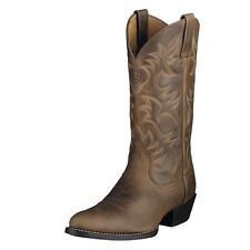 Ariat Men's Distressed Heritage Western R-Toe Boots 10002204