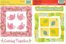 SUZY'S ZOO Frames & Corners SCRAPBOOKING Sheets Choice