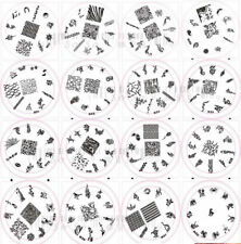 Nail Art Large Stamping Image Template Plate H series 2