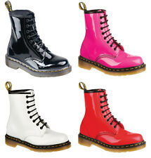 Dr Martens Air Wair Patent Boots 1460Z 8 Eyelits