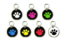 """7/8"""" Small Stainless Steel Pet ID Tag Free Custom Engraved Dog Cat"""